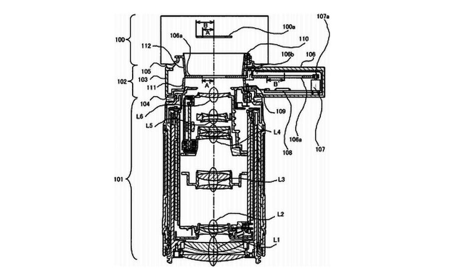 A patente do adaptador para mirrorless full-frame da Canon.