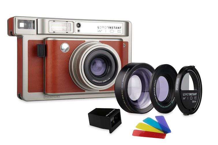 São várias opções de lentes e filtros, como de costume é oferecido pela Lomography