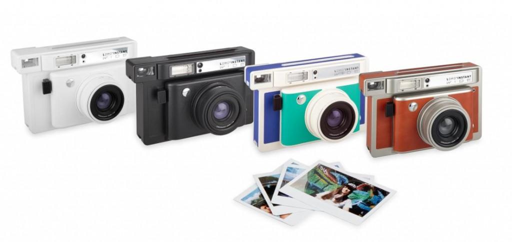 A Lomo'Instant Wide estará disponível em 4 cores