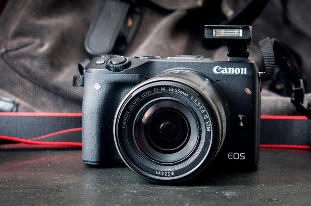 Canon EOS M3   Foto: Kristoffer Møllevik