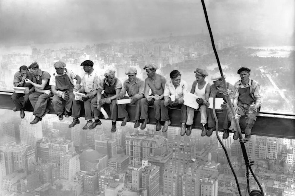 """Documentário conta a história por trás da foto """"Almoço no topo de um arranha-céu"""""""