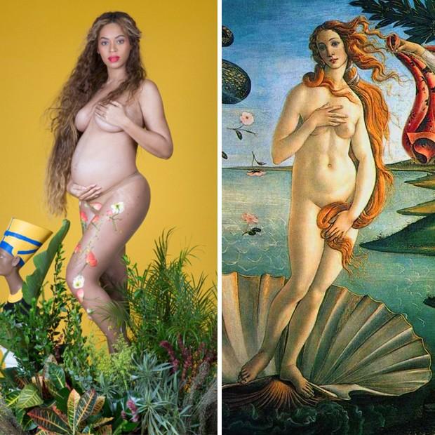 A vênus negra representada por Beyoncé na foto de Awol Erizku