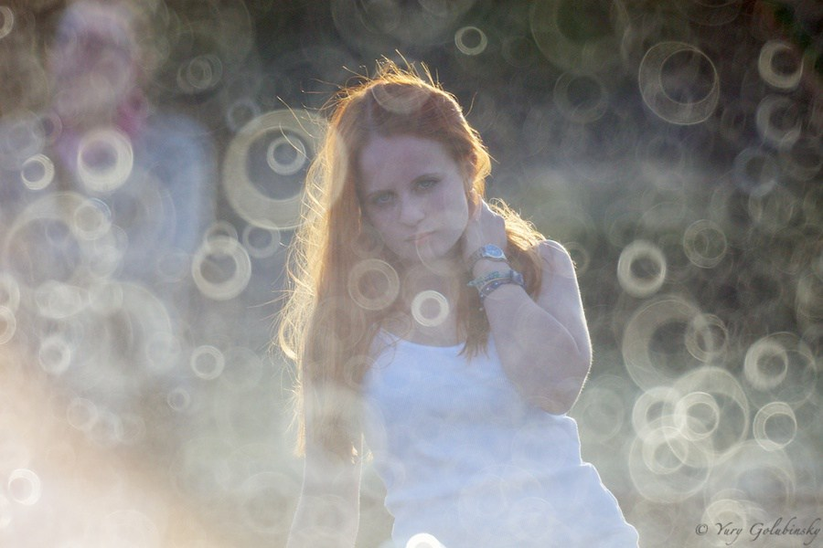 O bokeh criado pela lente Rokinon 800mm que é uma objetiva de espelho   Foto: urixblog