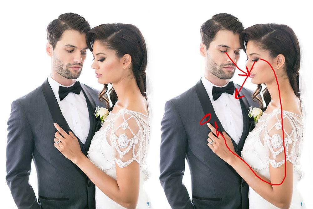 5 exemplos mostram a importância da posição das mãos em um ensaio fotográfico