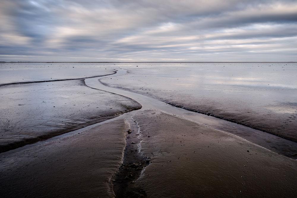linha do horizonte em suas fotos