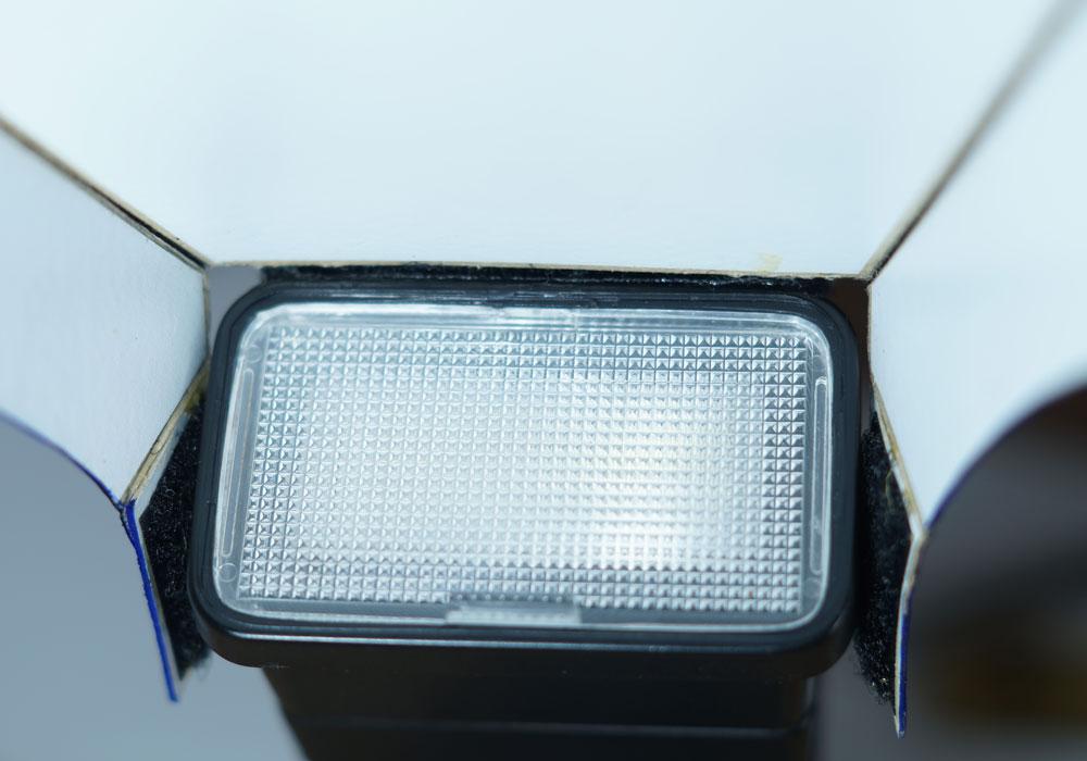 rebatedor para o flash