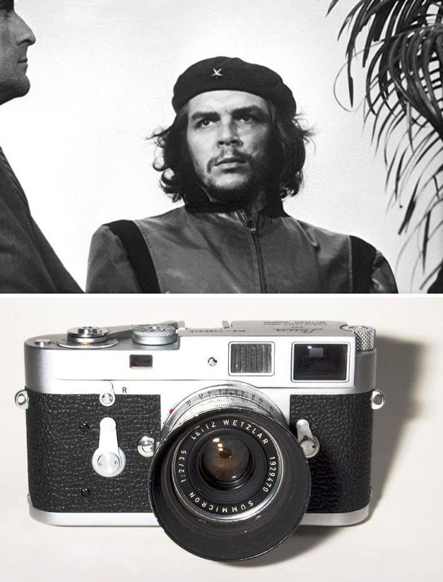 Quais câmeras fotográficas foram usadas para fazer 13 imagens  históricas?