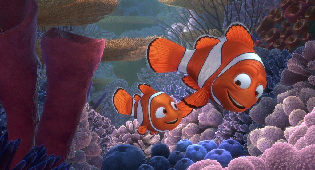 Como funciona a criação da iluminação nos filmes da Pixar - Nemo