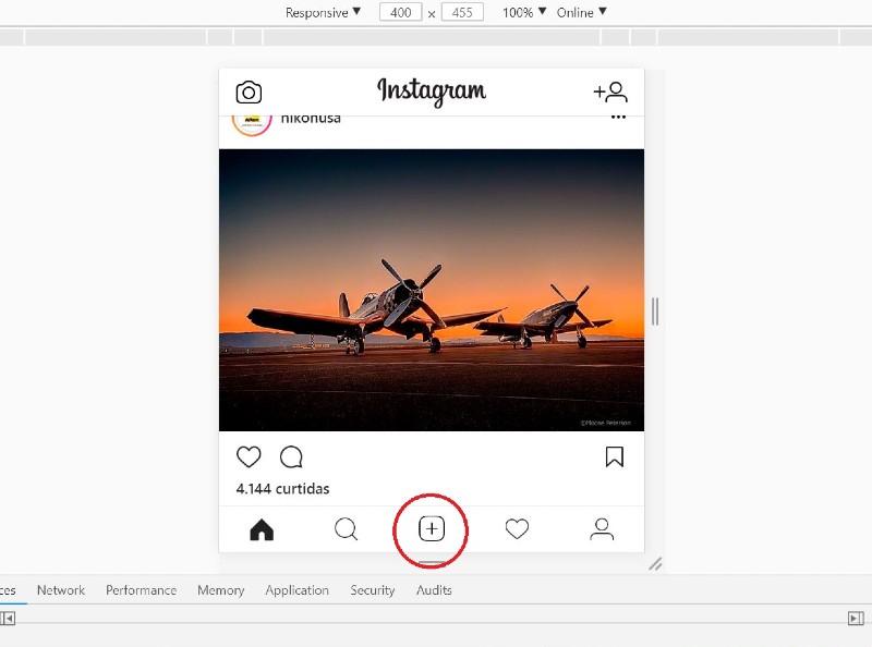 Como postar foto no Instagram pelo PC?