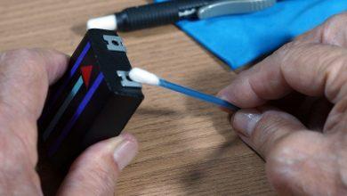 manutenção bateria camera fotográfica