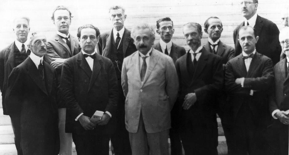 história por trás da foto - Albert Einstein no Brasil