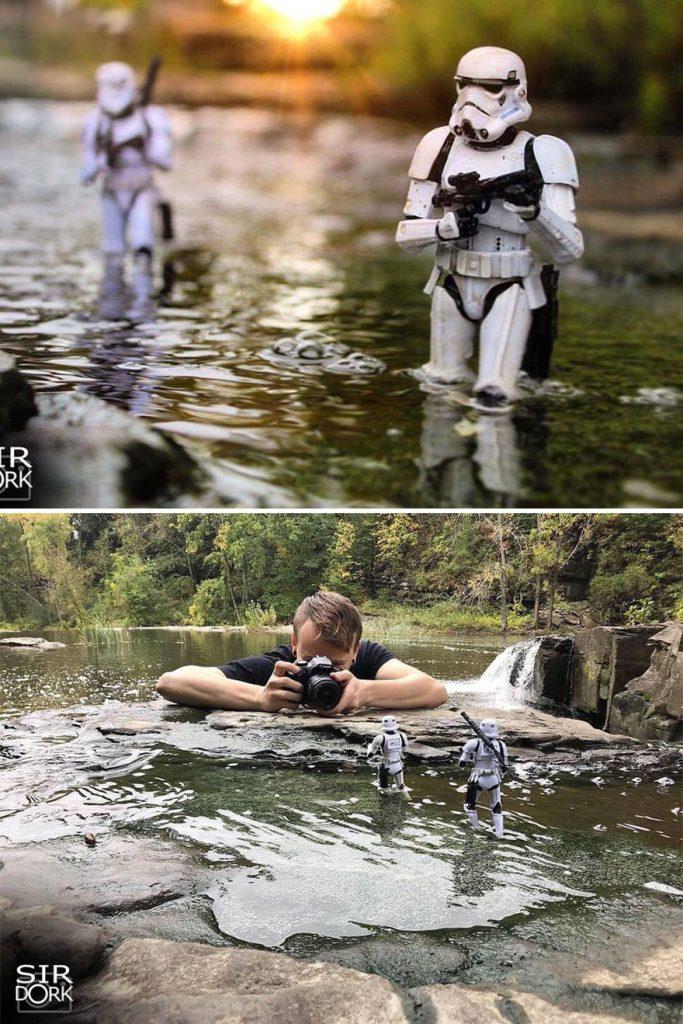 fotos de bonecos star wars