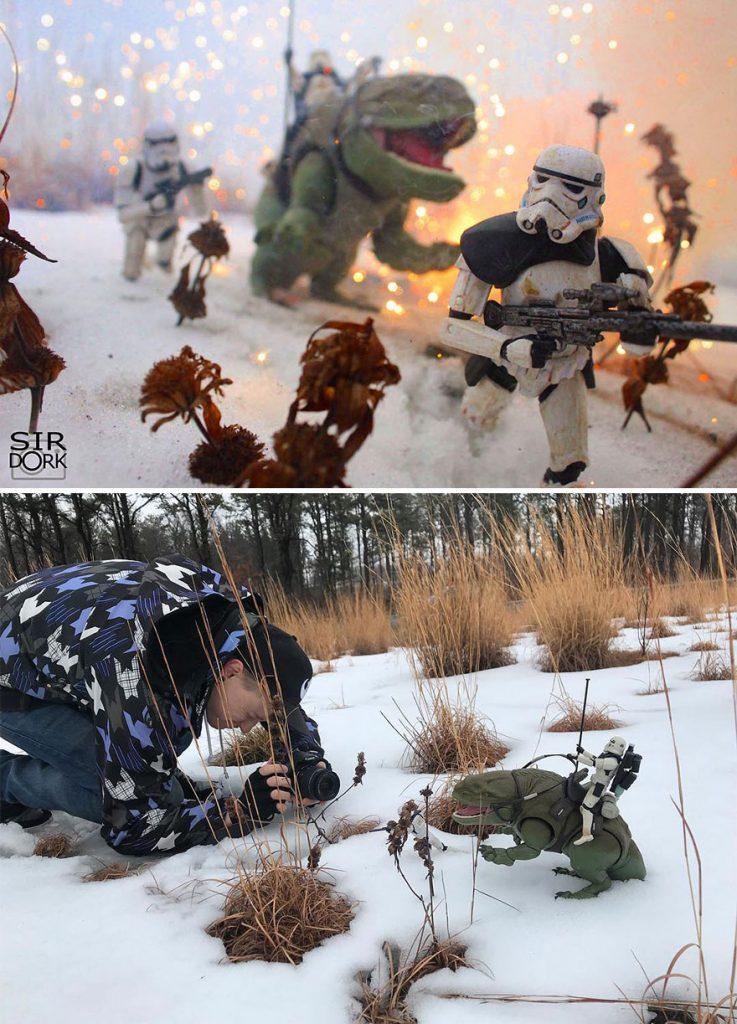 fotos de bonecos de ação