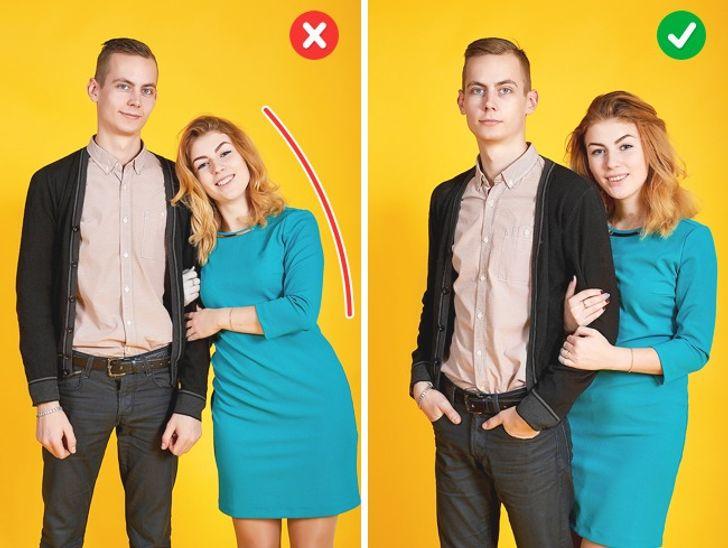 Como melhorar as poses de casais nas fotos