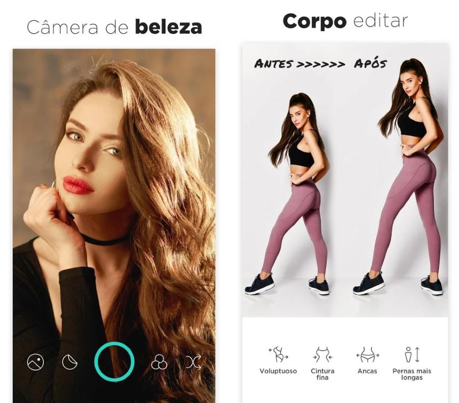 Candy Camera: aplicativo de câmera grátis para Android para tirar selfies e fotos de beleza