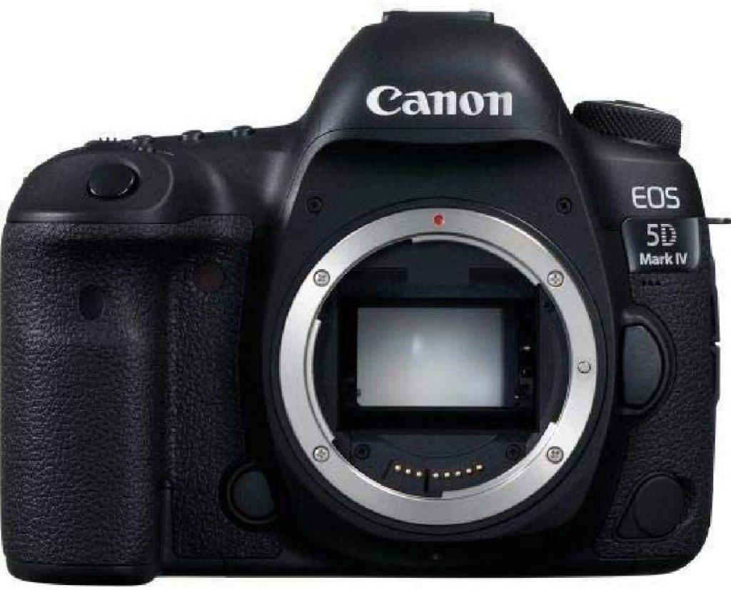 Por que não vou mudar para as câmeras mirrorless - Canon Mark IV