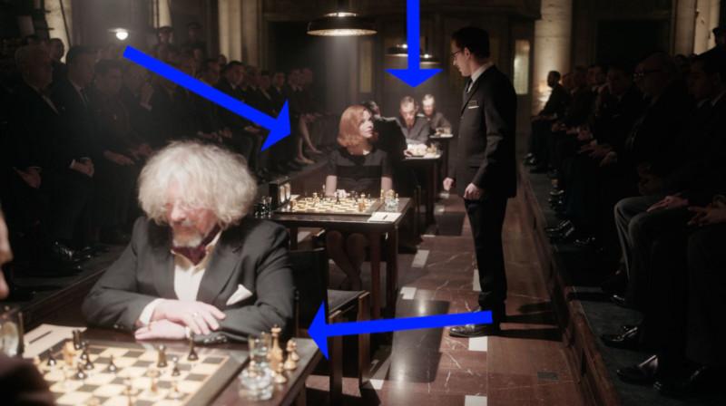 7 técnicas de composição de fotos usadas na série O Gambito da Rainha