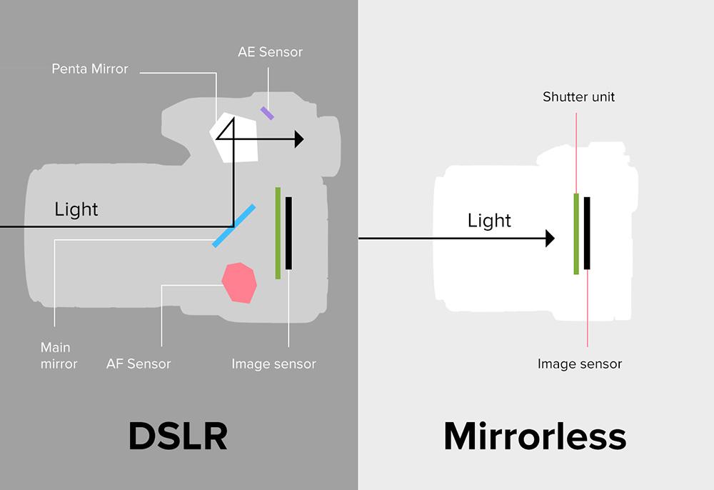 Mirrorless ou DSLR: entenda as vantagens e desvantagens de cada sistema antes de comprar sua próxima câmera