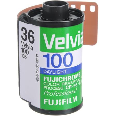 filme Fuji Velvia 100 é proibido de ser vendido nos Estados Unidos