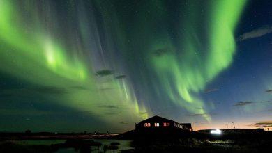 hotel islândia procura fotógrafo para fazer fotos da aurora boreal