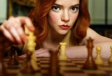 técnicas de composição de fotos na série O Gambito da Rainha