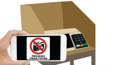 proibido fotografar voto ou cédula