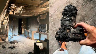 fotógrafo perde todos seus equipamentos fotógrafos por causa de incêndio em seu apartamento