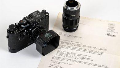 câmera leica IIIg leilão