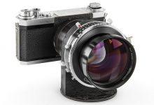 lente com a maior abertura na história da fotografia