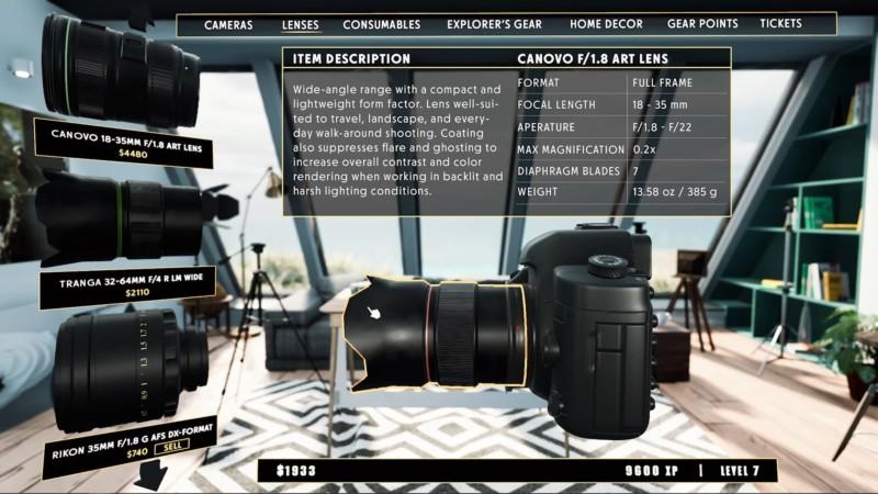 Photography Simulator: Jogo de videogame recria ações de fotógrafos de natureza e vida selvagem