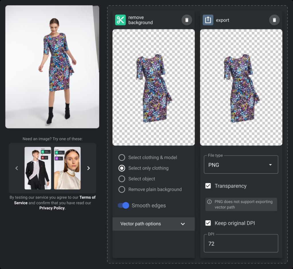 Software faz recorte de fundos de fotos de produtos em segundos