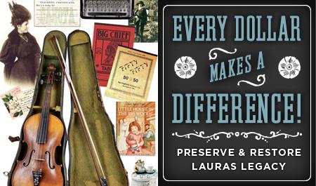 HELP PRESERVE AND RESTORE LAURA'S ROCKY RIDGE FARM
