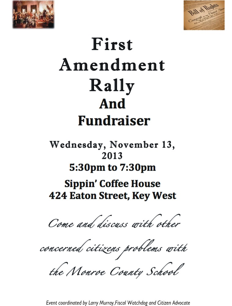 First Amendment Rally