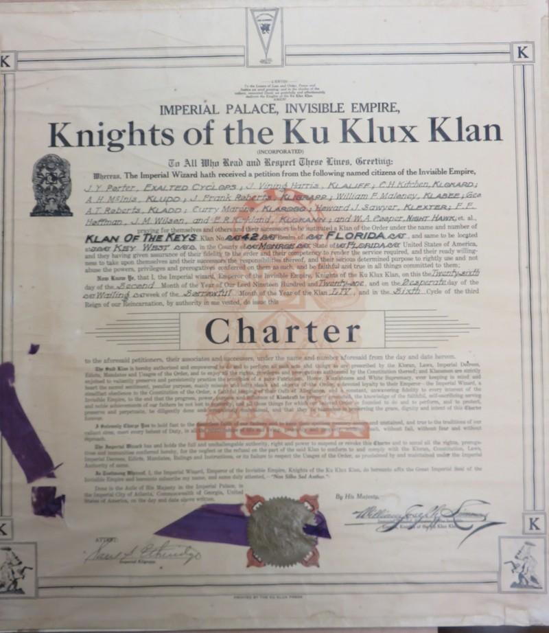 KKK charter Key West