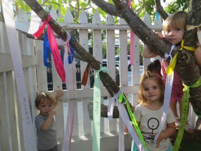 Ribbons of Gratitude at Montessori Children's School
