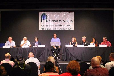 The Next Hometown Q. and A. Forum is Monday, September 26 at 5 pm at TSKW
