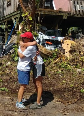 One World One Canvas Helping in the Keys