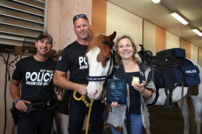 Jane Gardner and Friends 'Pony Up' For Key West Police Mounted Unit