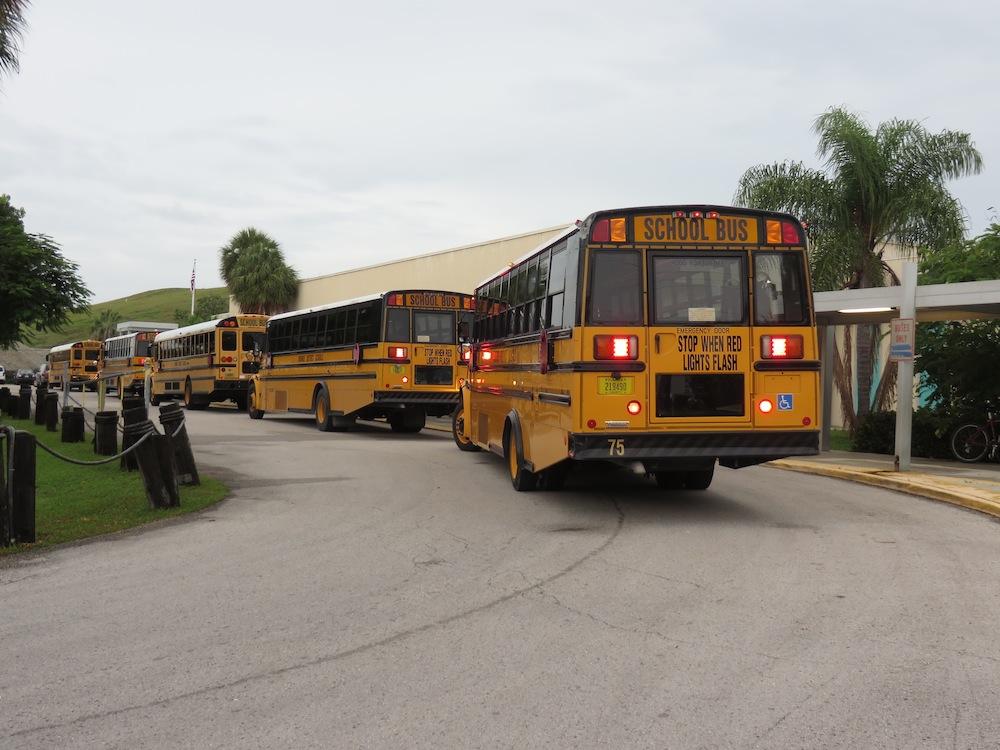 gerald adams school buses