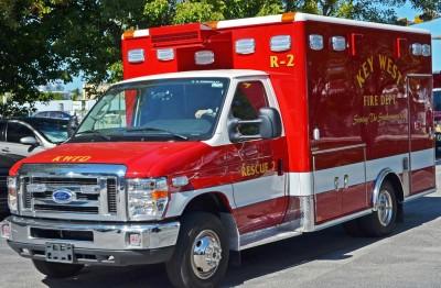 New Ambulances Arrive