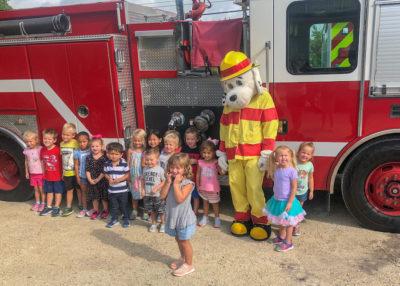 Monroe County Fire Rescue Teaches Kids Fire Prevention