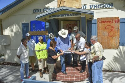 Monroe County Officials Tour State's Vacant Big Pine Key Road Prison for Potential County Use