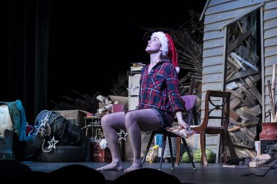 Burnpile Opens to Raves at the Key West Theater