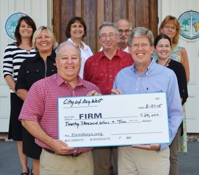 City Donates $20,000 to FIRM