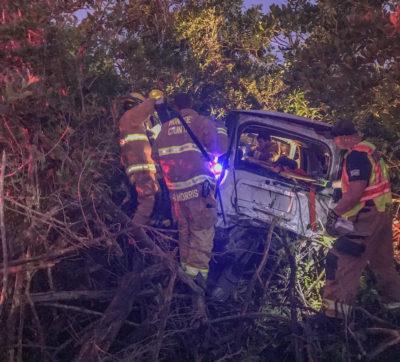 Crash Between Coca Cola Truck & SUV on Cudjoe Key