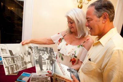 """Judge Peary Fowler, Author Ted Geltner at """"Voices, Places, Inspirations"""" Hemingway Days Event"""