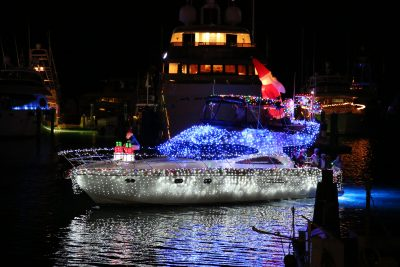 Key West Harbor Walk of Lights and the 26th Annual Schooner Wharf Bar & Galley Lighted Boat Parade