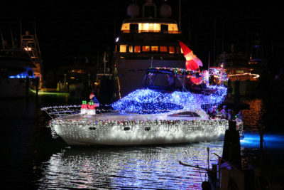 28thAnnual Schooner Wharf Bar Lighted Boat Parade Set to Dazzle