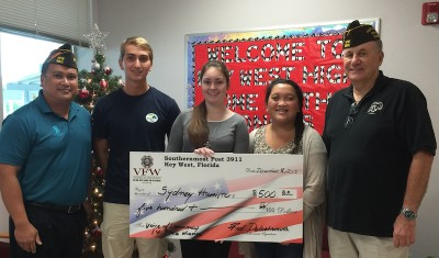 Southernmost VFW Announces Local Essay Contest Winners