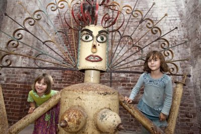 Kids Can Get Kinetic with These Family-Friendly Papio Kinetic Sculpture Parade Events